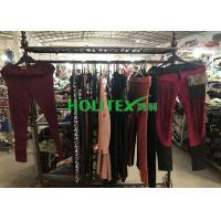 Quality Colorful Used Winter Clothes A70-W-LCP Second Hand Skinny Pants For Ladies for sale