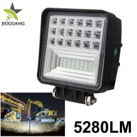 China O SRAM Chip Off Road Led Work Lights 5040 Lm For Engineering Truck Tractor on sale