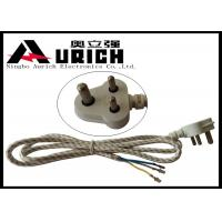 China South Africa India Three Prong Electrical Cord 3 Poles 3 Wires For Washer And Dryer on sale