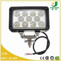 China Car head lamp 33W 2475lm 6 inch led working light for truck on sale