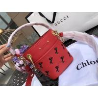 China Chloe Young The Owen Series Pony Embroidery Bucket Package chloe Drew Metal Wide Shoulder Strap on sale
