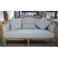 Upholstered Popular Antique White Color Chaise Recliner Lounge Sofa