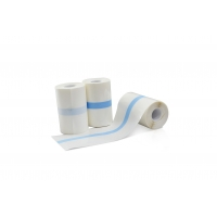 Quality PU or spun-laced non woven fabric material adhesive dressing roll for sale
