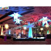 Indoor party club inflatable lamp decoration with led for Amusement park decoration games
