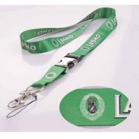 """Quality Custom ployester buckle lanyards with 1"""" width for your events for sale"""