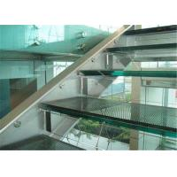Quality Commercial Building 10mm Laminated Glass , Clear / Colored Decorative Laminated Glass for sale