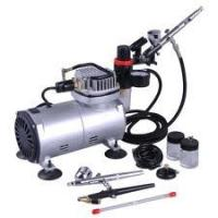 Quality Stable Air Flow Auto Stop Professional Low Noise Airbrush Tattoo Kit Machine for Body Art for sale
