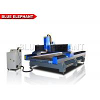 Quality Heavy Duty Cnc Router Stone Etching Machine / Equipment , Cnc Stone Cutting Machine For Marble / Granite for sale