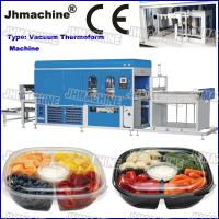 Quality CE Standard food grade Trays Automatic Vacuum Thermoforming Machine for deli use for sale
