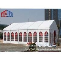 Roof Top Pop Up Wedding Party Tent , Beach Camping Tent Iron Material Connectors