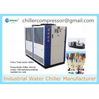 China Plastic Injection Machine Mould Cooling 10 Tons Air Cooled Water Chiller on sale