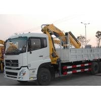 Quality 12Ton Mobile 12T Knuckle Boom Truck Mounted Crane For Landscrape Jobs for sale