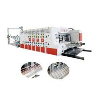 Quality 7500*4500*2600mm Corrugated Box Die Cutting Machine With 3 Years Warranty for sale