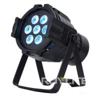 Buy cheap 7 x 10w Professional Stage Lighting Fixture Color Wash Light Quad RGBW from wholesalers