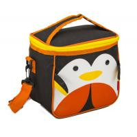 Double Zipper School Kids Cooler Bag Cute Insulated Environmentally Friendly