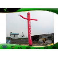 Quality Strength Durability Attractive Red Inflatable Air Dancers For Outdoor Event for sale