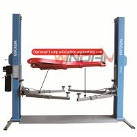 Quality Base Plate Hydraulic Car Lift 2 Post Hydraulic Auto Lift Mechanical Lock  4T for sale