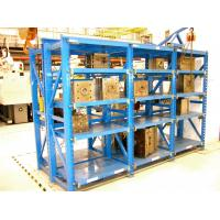 Quality Adjustable Drawable Mold Storage Racks for Plastic Mould Industry 2T Weight Load for sale