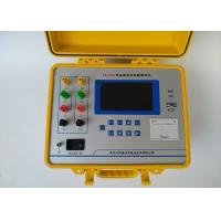 Quality 0.1μΩ Resolution Power Transformer Testing Equipment 3 Phase 10A Test Current Output for sale