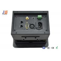 Buy Aluminum Alloy Conference Room Table Connection Box Av Panel Electric Multi Plug at wholesale prices