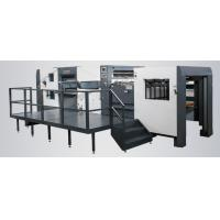Quality Creasing Automatic Die Cutting Machine With Stripping Station WM - 1300PT Model for sale