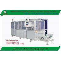 China High Speed Automatic Blister Card Packing Machine Disposable Razor With Robotic Arms on sale