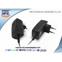 China 12V 1A Switching Power Adapter For Set up Box , EU Plug in Connection on sale