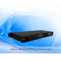 China 16CH AHD fiber converter in 1U rack mount chassis for 5MP/4mp/3mp/2mp/1mp CCTV surveillance system on sale