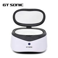 China Home Use Compact Ultrasonic Cleaner , Ultrasonic Eyeglass Cleaner ABS Housing on sale