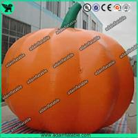 Quality Advertising Inflatable Vegetable Model 3m Oxford Inflatable Pumpkin Replica for sale