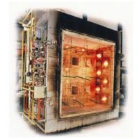 Buy cheap ISO Flammability Testing Equipment / Large Scale Vertical Fire Resistance Test Furnace from wholesalers