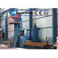 Quality Roller Conveyor Type Shot Blasting Equipment Bags Type Dust Collector Stable Running for sale