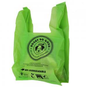 Buy cheap Customized Printing Logo PE T-shirt Bag from Wholesalers
