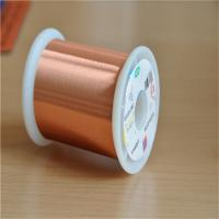 Quality 0.02mm Ultra Fine Magnet Wire Ul Certificated Transformer Enamelled Copper Wire for sale