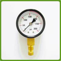 High Pressure Vacuum Gauge : High accuracy bar vacuum pressure gauge of