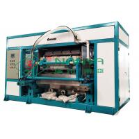 Quality Paper Egg Tray Manufacturing Machine with Heating Oven High Speed 4000PCS / H for sale