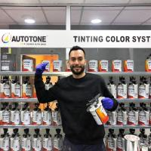 Quality AUTOTONE Paint Mixing Machine with 70 mixing lids , Auto Paint Mixing Machine Tinter Shaking Machine, sales@hccpaint.com for sale