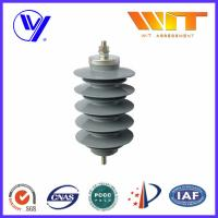 Quality Lightning Protection Equipment Polymeric Metal Oxide Surge Arrester 10KA , 24KV for sale