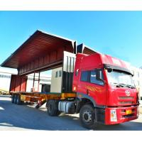 Quality China Wing open Van Trailer, Curtain Side Wall Open Van Box, Wing Opening Semi Trailer for sale