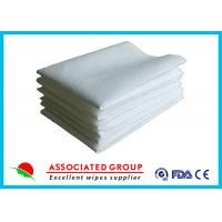 Quality Hotel / Restaurant / Airline Disposable Dry Wipes Ultra Size With Soft Pearl Pattern for sale