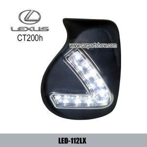 China LEXUS CT200h DRL LED Daytime Running Lights Car headlight parts Fog lamp cover LED-112LX on sale