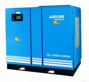 Quality Adekom Oil Free Rotary Screw Air Compressor for sale