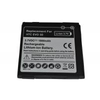 China HTC EVO 3D 1800mAh,3.7Voltage manufacturer products on sale