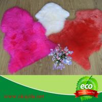 Quality shaggy big wool 100% real Australian sheepskin rug sheep fur rugs for sale