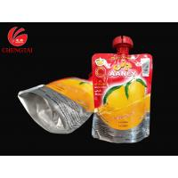 Buy cheap 200ML Drink Packaging Pouch / Spouted Pouches Packaging with Three Layers Material from Wholesalers