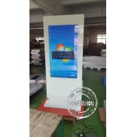 Quality Lcd Touch Screen Kiosk Advertising Totem / Interactive Free Standing Digital Signage for sale