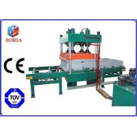 Four Cavities Pneumatic Vulcanizing Machine Electric Heating For Rubber Tile
