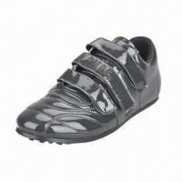 Quality 2012 brand men's sports shoes with genuine leather upper for sale