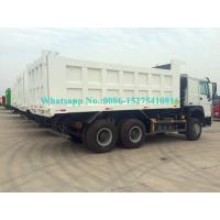 Buy White Color HOWO 371/336/290/266HP 6x4 10 wheeler Mining Dump/ Dumper/Tipper at wholesale prices