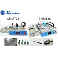 Small Desktop CHMT28 / CHMT36 SMT LED Pick And Place Machine With Laser Positioning